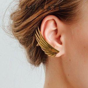 AUrate Feather Ear Cuff